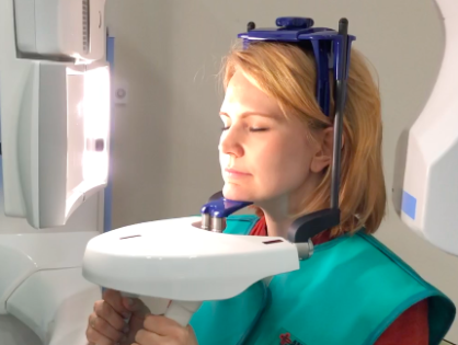 CBCT in the center of Moscow